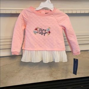 Girls Tommy Hilfiger top new with tag